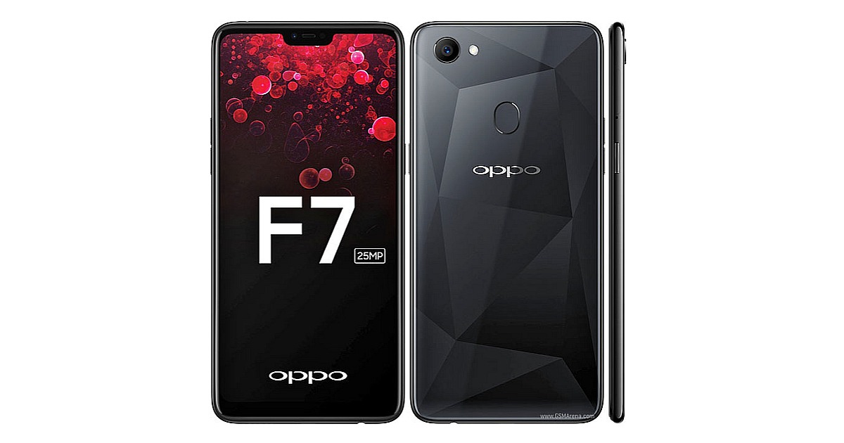 The OPPO F7 Mid-Budget Smartphone